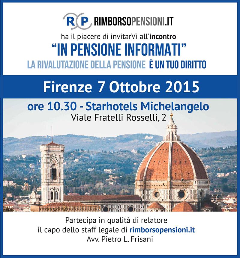 Invito a Firenze In Pensione Informati