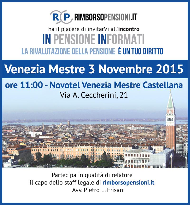 3 Novembre Venezia Mestre