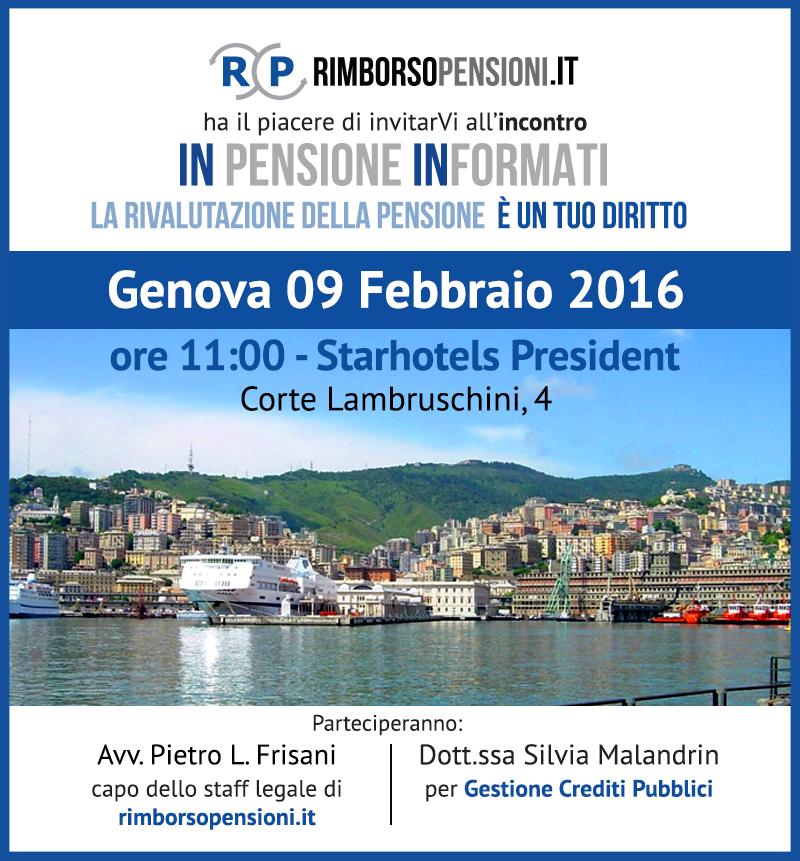 In Pensione InFormati Genova
