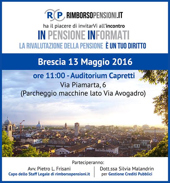 Incontro a Brescia