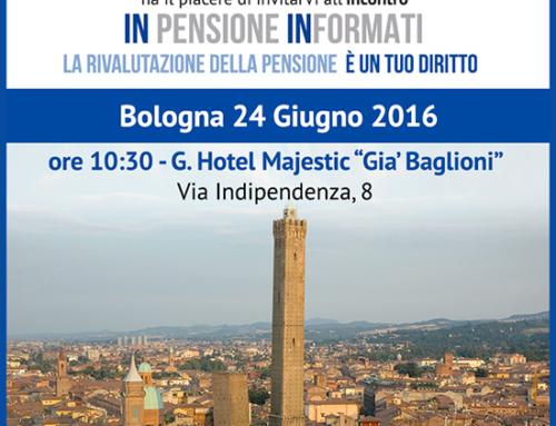 RimborsoPensioni per la seconda volta a Bologna