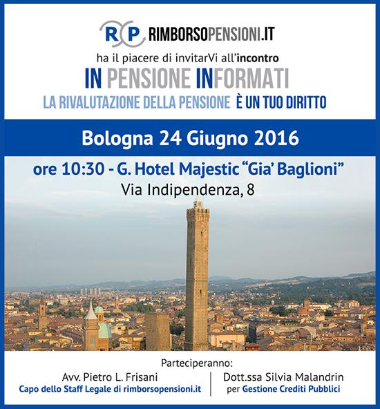 RimborsoPensioni a Bologna