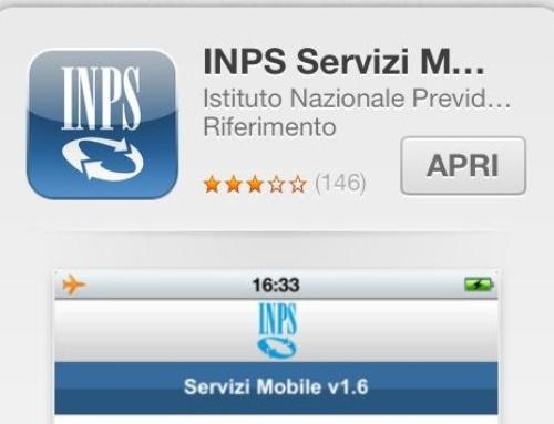 INPS: nuovi servizi consultabili anche da smartphone e tablet