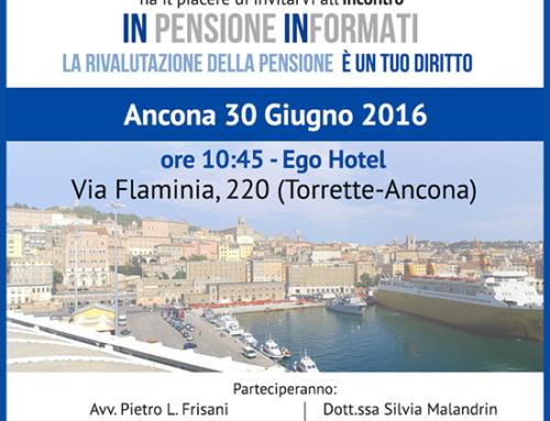 30 Giugno: INpensione INformati ad Ancona