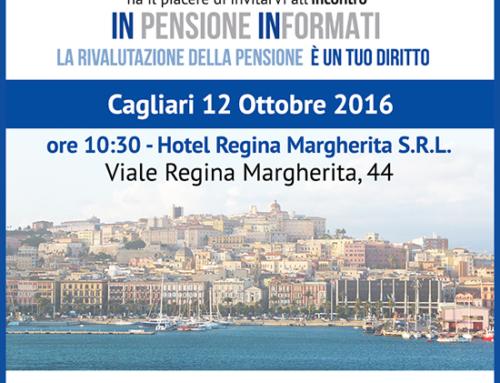 Ripartono gli incontri di Rimborso Pensioni, questa volta INpensione Informati vola a Cagliari!