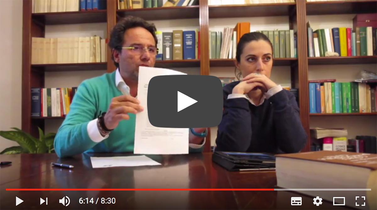 Video Diffida Presidenza Consiglio dei Ministri