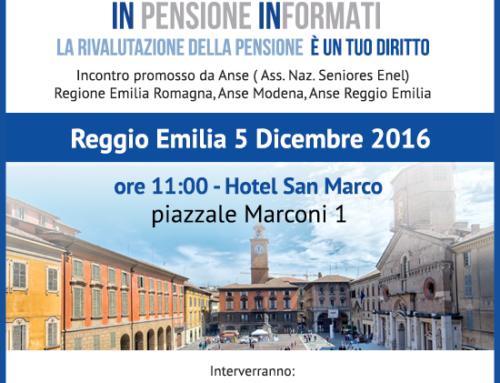 INpensione INformati per la quarta volta in Emilia Romagna: partecipa al dibattito!