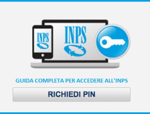 Nuove procedure per ottenere il PIN INPS